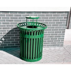 Richmond Receptacle - Green - 32 Gallon