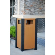Ridgeview Receptacle - Cedar - 32 Gallon