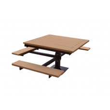 T-Table - Cedar - 4 Foot - ADA