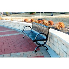 Wellington Bench - Black - 6 Foot