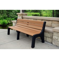 Newport Bench - Cedar - 6 Foot