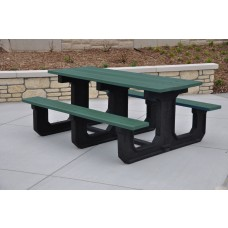 Park Place Table - Gray - 6 Foot