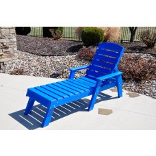 Pensacola Adirondack Chaise Lounge - Cedar