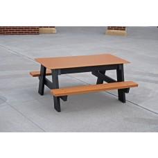 Kids Picnic Table - Cedar - 4 Foot