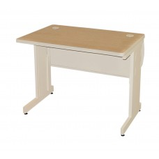 Pronto School Training Table with Lockable Raceway, 36W x 24D