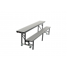 "ACB8 - All-In-One Mobile Convertible Bench - 96""L"
