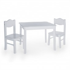 Classic Table and Chair Set - Gray