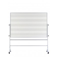 48x72 White Remarkaboard both sides Reversible, Aluminum trim