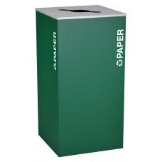 Square Paper - Emerald Texture
