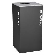 Square Plastic - Black Texture