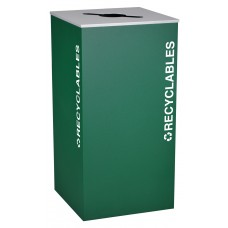 Square Recyclables - Emerald Texture