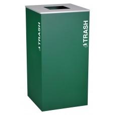 Square  Trash - Emerald Texture