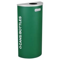 Half Round Cans/Bottles - Emerald Texture