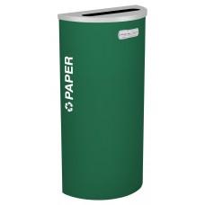 Half Round Paper - Emerald Texture