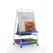 Classic Royal® Reading Writing Center with 2 Small, 1 Large, & 2 Divided Tubs