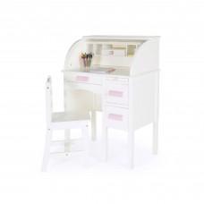 Jr. Roll-Top Desk - White