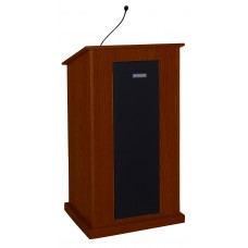 Chancellor Lectern - Wired Sound - Mahogany