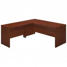 Bush Business Furniture Series C Elite 72W x 30D L Shaped Desk with 48W Return