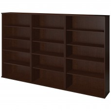 Bush Business Furniture 66H Bookcase Storage Wall