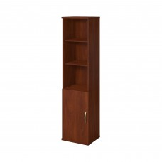 Bush Business Furniture Series C Elite 18W 5 Shelf Bookcase with Doors