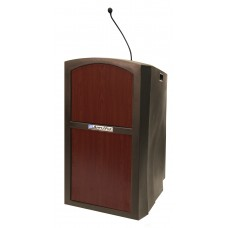 Pinnacle Full Height Lectern - Non Amplified - Mahogany