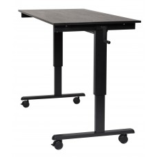 Luxor STANDCF60-BK/BO Crank Adjustable Stand Up Desk