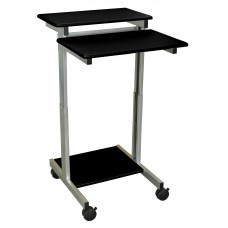 Luxor Stand Up Presentation Station - Black