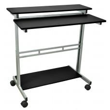 Luxor Stand Up Desk - Black