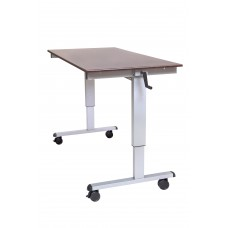 "Luxor Standup-CF60-DW 60"" Crank Adjustable Stand Up Desk"