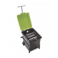 Tech Tub® Trolley with 1 Premium Tech Tub®: Holds 6 Chromebooks™