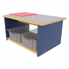 Toddler Play Center, Open front and back - Assembled