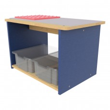 PreSchool Play Center, Open front and back - Assembled