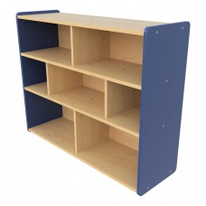 School Age Compartment Storage, (7) compartments - Assembled