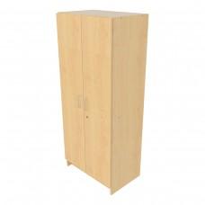Single-Door Tall Cabinet, Locking Doors - Assembled
