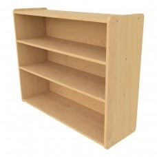 School Age Shelf Storage - Assembled