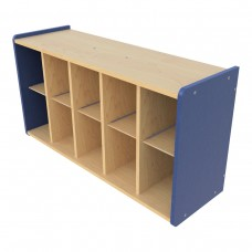 Wall Cubbie Storage, (10) Cubbies - Assembly Required