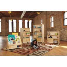 TrueModern® Four-Shelf Bookcase