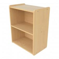 Preschool Shelf Storage, (1) full width fixed shelf - Assembled