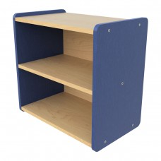 Toddler Shelf Storage, (1) full width fixed shelf - Assembled