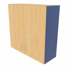 4-Compartment Wall Cabinet - Assembled