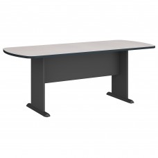 Bush Business Furniture Series A & C 79W x 34D Racetrack Oval Conference Table