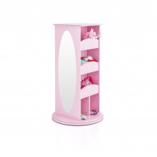 Rotating Dress Up Storage Center - Pink