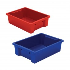 Best-Rite Tubs - Set Of 2 (1 Red, 1 Blue)