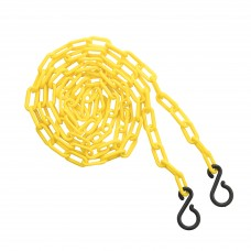 "2"" 10' bag of chain - yellow"