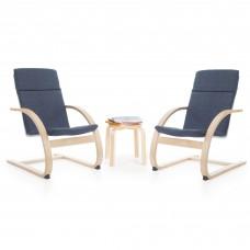 Kiddie Rocker Chair Set - Denim