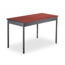 """OFM Core Collection 24"""" x 48"""" Multi-Purpose Utility Table, in Cherry (UT2448-CHY)"""