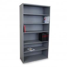 Heavy Duty 6 Shelf Cabinet, Slate Gray