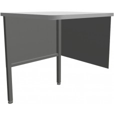Marvel Utility Corner Table, 30W x 30D x 28-36H