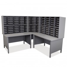 100 Slot Mailroom Organizer