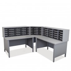 50 Slot Mailroom Organizer